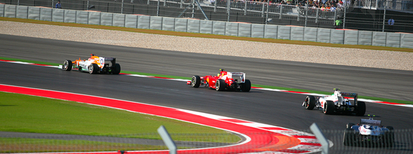 The Grand Prix at Circuit of the Americas